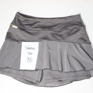 Womens XS Lole Running, Tennis Skort, Grey UPF 50+